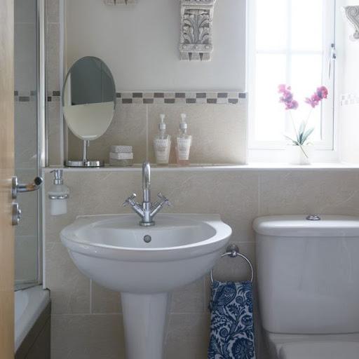 Phòng tắm trung tính với những nét hoàn thiện đẹp mắt