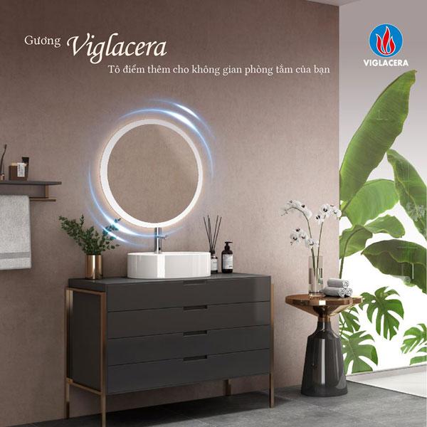 Gương nhà tắm Viglacera giảm giá sâu lên tới 22% dịp cuối năm